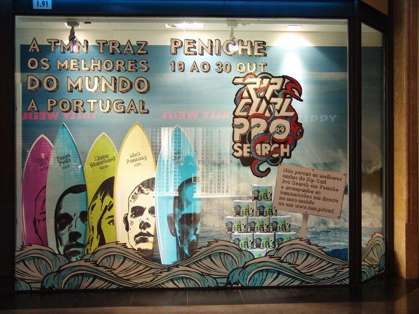 TMN // World Surf Championship Campaign by André Cruz, via Behance