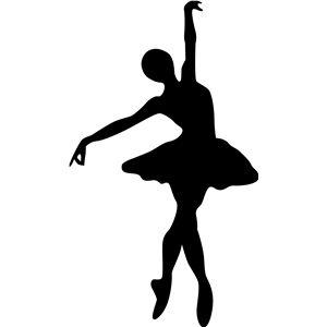 Silueta tienda de diseño - Vista Diseño # 4694: bailarina