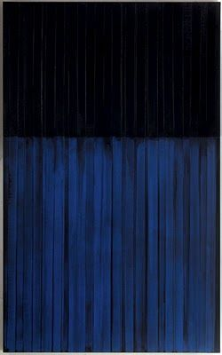 Pierre Soulages, Peinture 222 x 137 cm, 3 février 1990