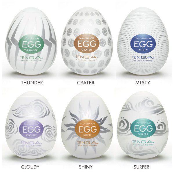 Tenga Eggs Hard Boiled - komplet 6 szt.  Tenga Egg to niepozorne jajko będące jednocześnie najwyższej jakości zabawką erotyczną. Jego niewielki rozmiar kryje w sobie mocno rozciągliwe wnętrze, które w czasie użytkowania w całości pokrywa członka. Będziesz zaskoczony tym, jak to mające lekko ponad 5 cm jajo może rozciągnąć się nawet pięciokrotnie powiększając swój rozmiar!  Dostępny na www.tabu24.pl