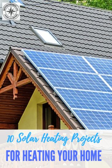10 DIY Solar Heating Projects For Heating Your Home And Water Over Winter - Being able to produce your own heat in the winter can literally save you hundreds of dollars a month. If you are looking to be more self reliant then these 10 awesome DIY projects are definitely for you. How many people can say they produce their own heat and hot water for free. I don't know anyone who does.