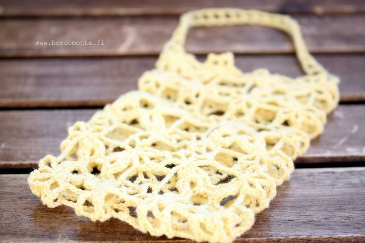 Lace bag for soap - bathroom