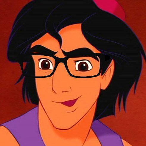 Omfg. | Definitive Proof Even Disney Men Look Hotter With Glasses