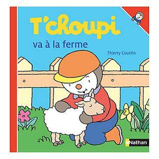 Le Journal de Nounou Sophie: T'choupi va la ferme