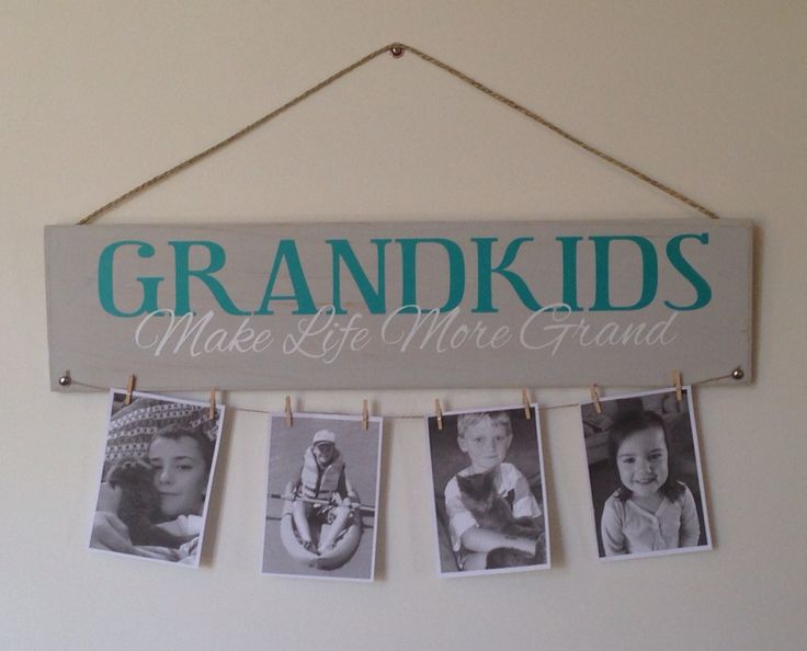 Grandkids Make Life More Grand sign   Artfully Yours ...