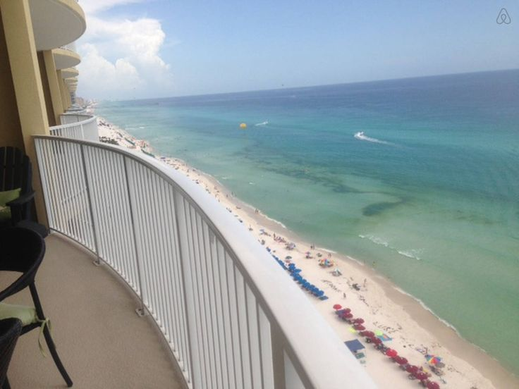 Beachfront condo Panama City beach - vacation rental in Panama City, Florida. View more: #PanamaCityFloridaVacationRentals