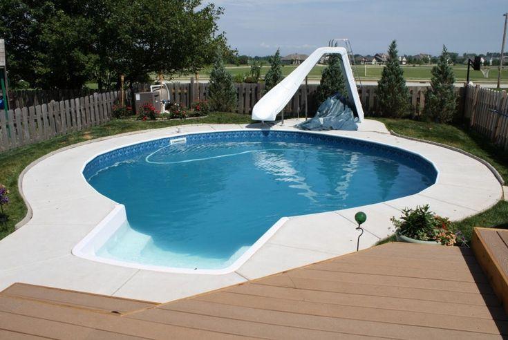 Water Slide For Home Pool Pools Backyards Pinterest Water