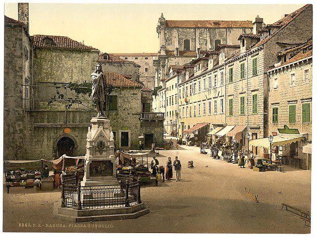 Old Pictures Of Croatia 100 Years Ago Vintage Everyday Croatia Dubrovnik Old Town Dubrovnik