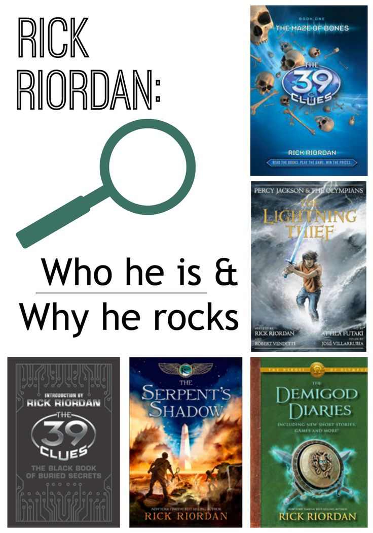 rick riordan Richard russell riordan jr is an american author he is known for writing the  percy jackson & the olympians series, about a twelve-year-old boy who  discovers.