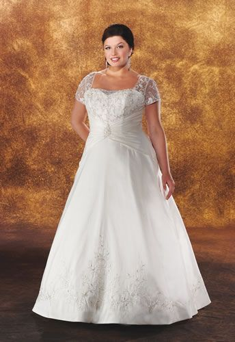 89 best images about wedding dresses full figure on for Wedding dresses for fuller figures