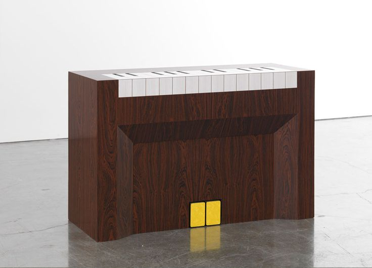 #RichardArtschwager Piano, 1965 Laminate on wood 32 x 48 x 19 inches. Iconic sculpture by the late Richard Artschwager.