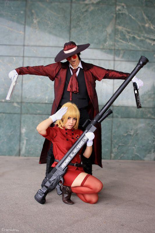 Alucard and Seras Victoria Cosplay by LeydaCosplay.deviantart.com