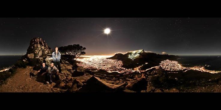 Stunning Lions Head Moonlight Hike