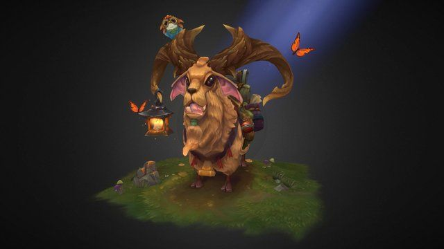 This is a character that I have made for the Blizzard Student Art Contest 2016