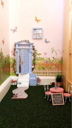 48 best opening fairy doors images on pinterest fairy for Little fairy mailbox