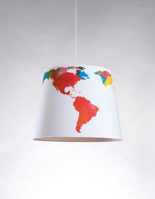 "Lampa wisząca ""Mapa świata"" | Fifi Studio | SHOWROOM Kids"