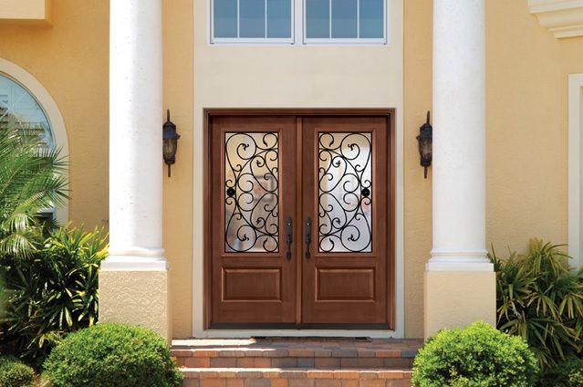The 25 best double entry doors ideas on pinterest double front entry doors entry doors and - Double front entry doors with sidelights ...