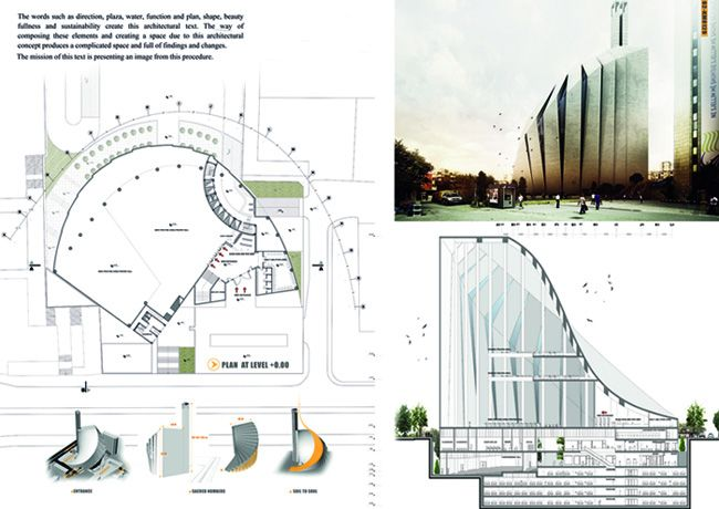 Arch2O Prishtina Central Mosque Competition Entry TARH O AMAYESH-10