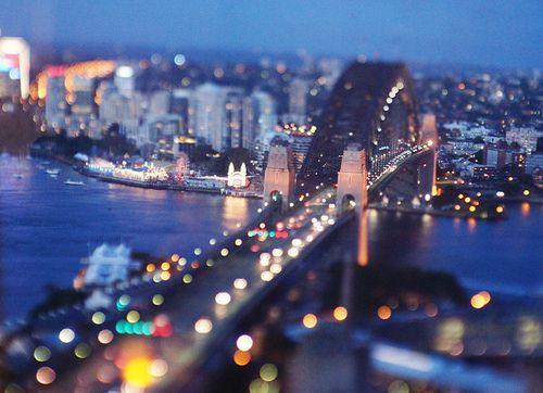 Sydney at night!