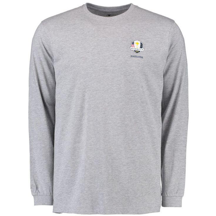 2016 Ryder Cup Hazeltine Long Sleeve T-Shirt - Gray