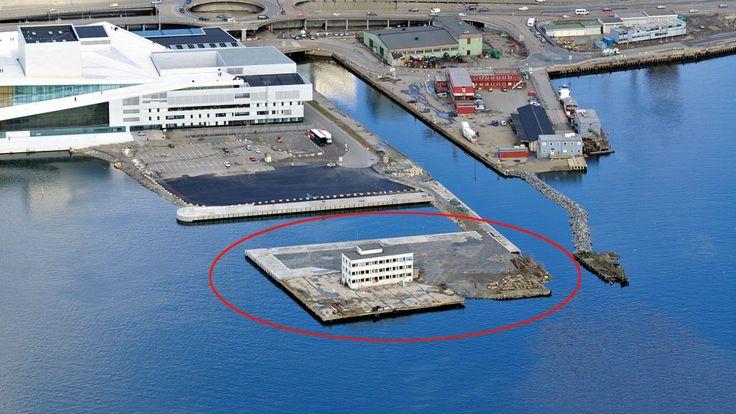 Nå gjøres øya ytterst på Bjørvikautsikkeren tilgjengelig for publikum.