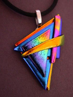Another Example of Fused Glass Jewelry