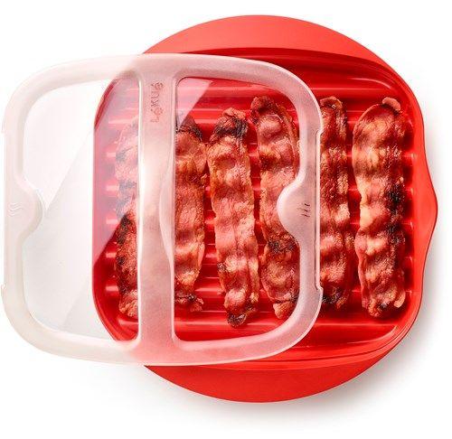 Bestill Lékué Bacon Maker her (Enkelt og greit i mikrobølgeovnen) - ✓ Rask Levering ✓ Se Norges største utvalg ✓ Rådgivning & svar på spørsmål