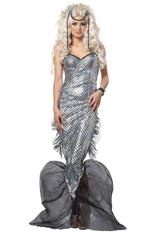 Brand New Sexy Mystic Mermaid Submariner Adult Costume   eBay