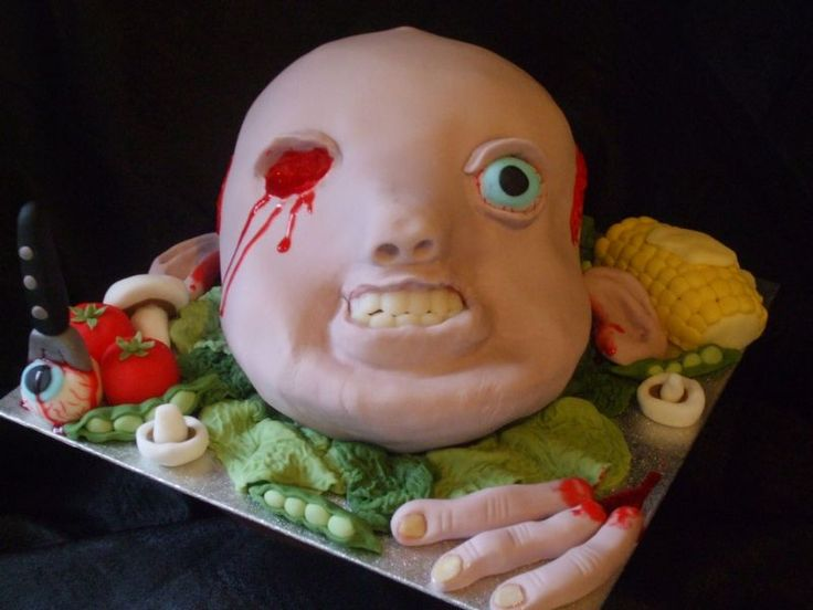 29 creepy spooky scary gross and disgusting halloween recipes - Scary Halloween Cake Recipes