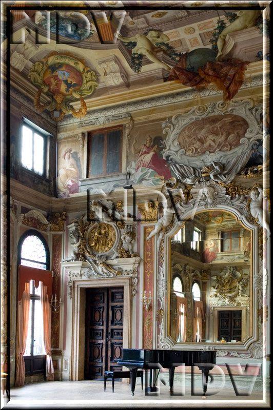 Venice Italy Venetian Palazzo Interiors | MDV Wedding in Venice - Italy - Palazzo Ca' Zenobio