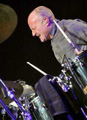 Phil Collins - top drummer