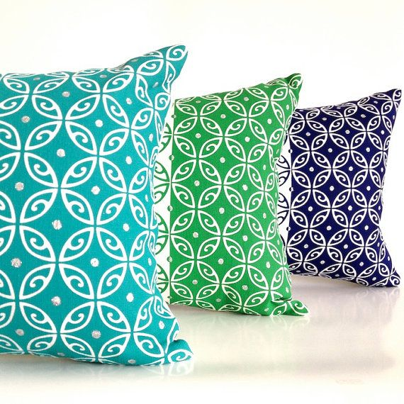 Linen Cushion Cover Moroccan Hand Screen printed by BillieTheKidDesign