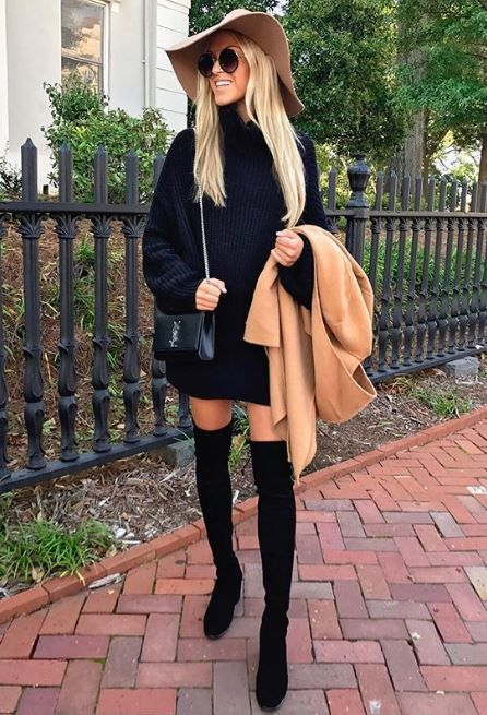 Incredibly 40 Winter Fashion 2018 Outfits To Copy #winterfashion2018 #winter2018 #winter