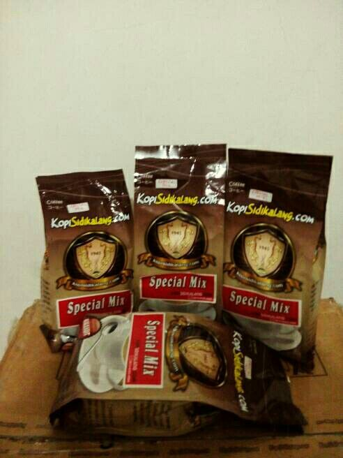Sidikalang Special Mix Coffee @ 250 gram only IDR 21,000 roasted fine grind. Indonesia Speciality Coffee.