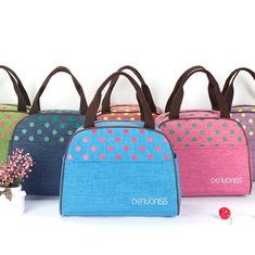 Cotton Insulation Lunch Tote Bag Cooler Insulated Picnic Handbag Lunch Box Storage Containers Cheap - NewChic Mobile