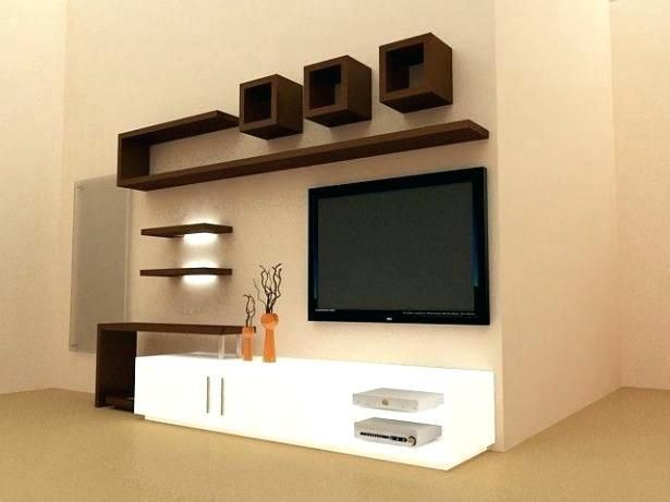 55 L Shaped Entertainment Center Tv Unit Furniture Design Tv