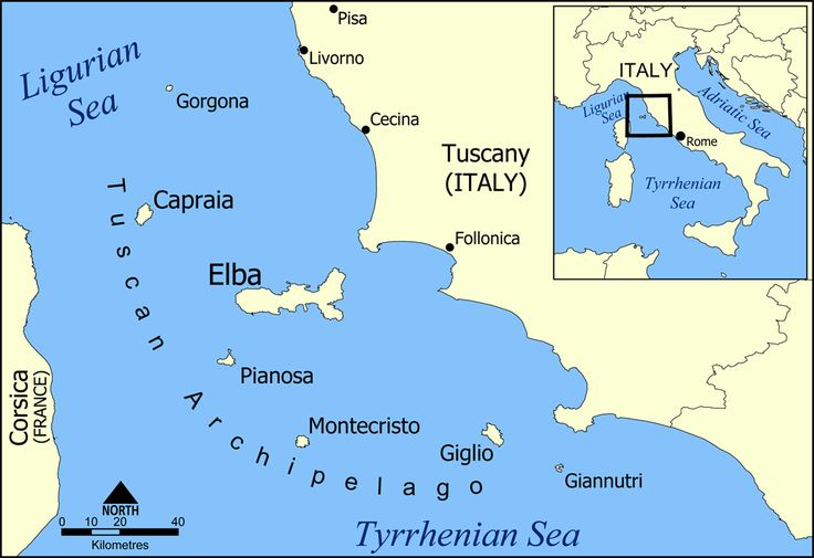 Tuscan archipelago - Elba – Wikipedie