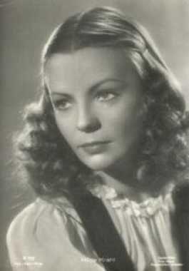 Portrait Hilde Krahl, Archiv KinoTV