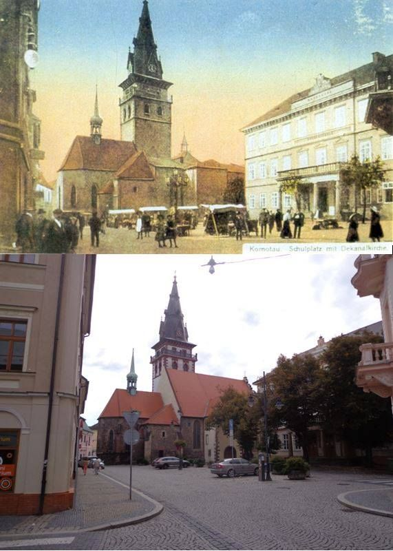 Schulplatz - Husovo náměstí