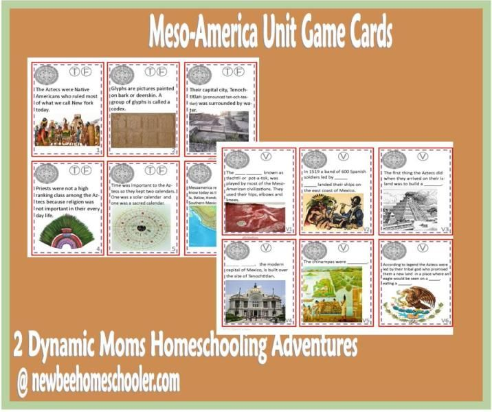 Meso-America game cards with pocket #freeprintablehistorycards: Cards C1, Games Cards, C1 History, C1W16 History, Card Games, Geography Cards, Cards Games, Game Cards, History Geography