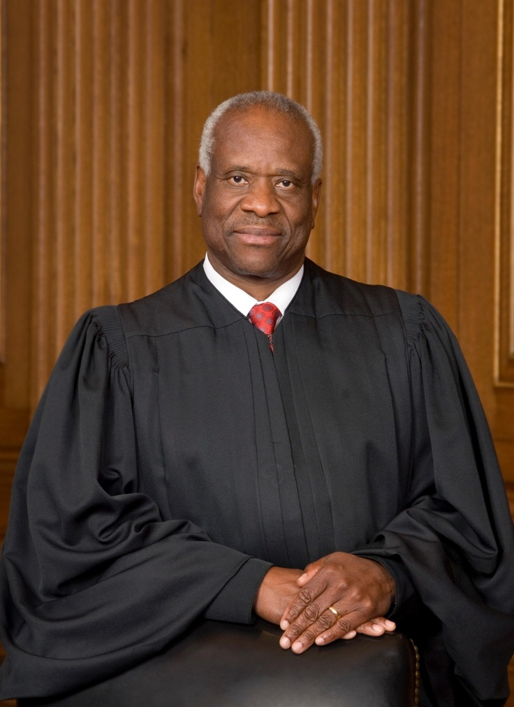 CLARENCE THOMAS - Supreme Court Justice born in Pin Point, Georgia in 1948 and should be hung from the neck until dead for being a racists to his own race and an anti-American, corrupt traitor.