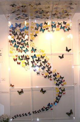Bromeliad: Mercoledì DIY: facilitare farfalle di carta - Moda e decorazioni per la casa fai da te e l'ispirazione