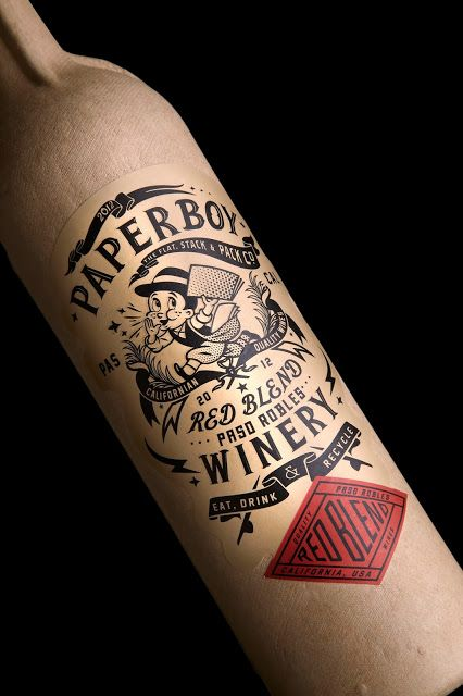 Paperboy on Packaging of the World - Creative Package Design Gallery