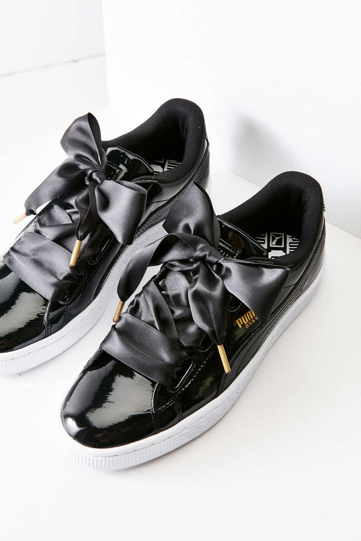 Puma Basket Heart Patent Leather Sneaker - Urban Outfitters