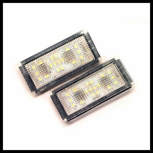 16.92$  Buy here - http://aliz47.shopchina.info/go.php?t=32309711840 - 2pcs car led license plate light for BMW E66 LED License Plate Lamp source white e66 18smd led number plate light for bmw e66 16.92$ #aliexpresschina