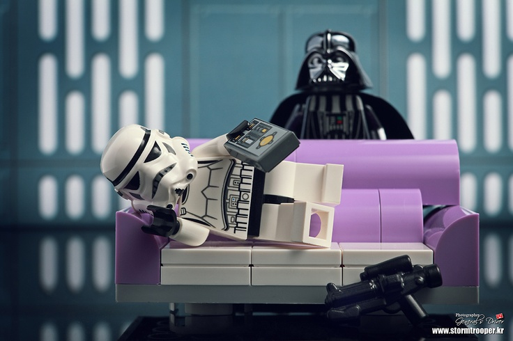 Star Wars' Couch trooper (lego)