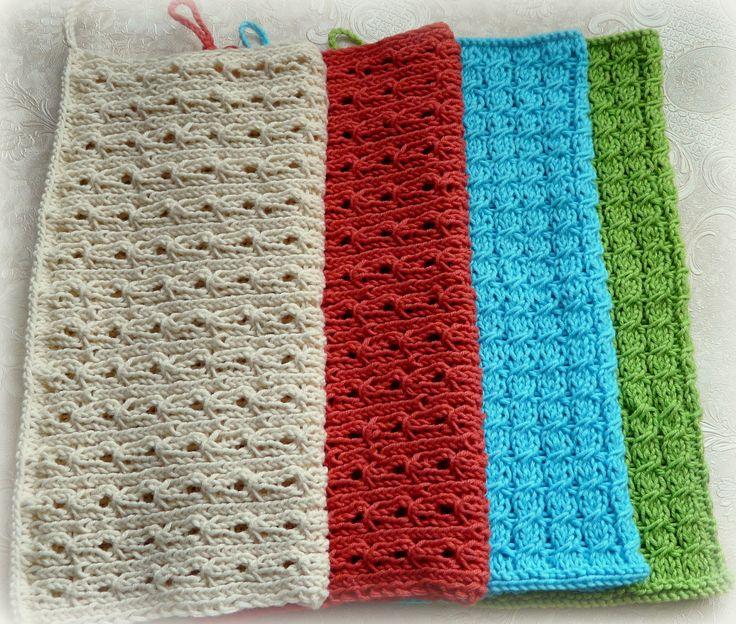 Sylvester Granny Knitting : Baumwollhandt�cher gestrickt stricken pinterest