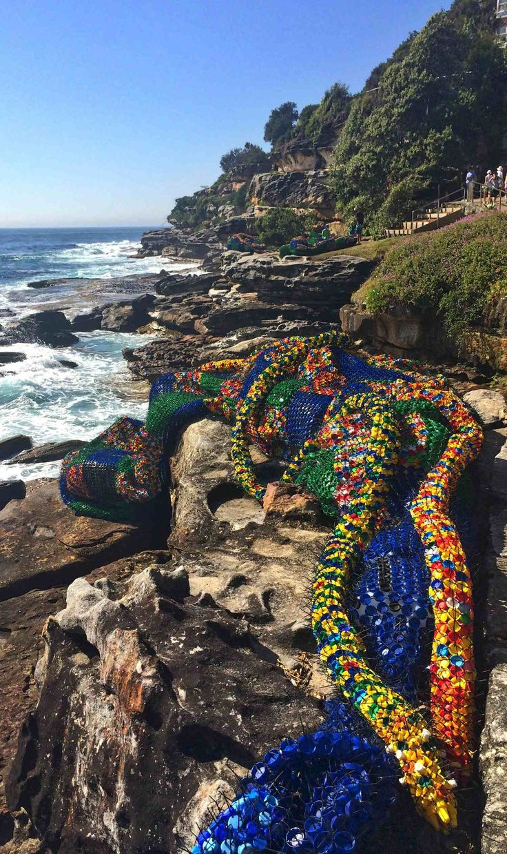 Overconsumption by Kerrie Argent – Sculpture by the Sea, Bondi