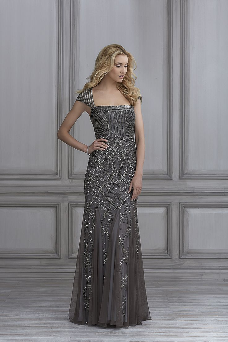 Bridesmaid Dress Out Of Adrianna Papell Platinum 40103