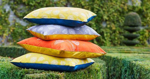 Cushion 70 x 70 cm Clé des Champs - Outdoor cushion - Fermob